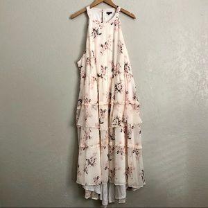 Torrid Floral Chiffon Tiered NWT Maxi Dress Size 4